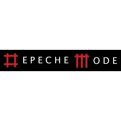 Depeche Mode - Textile Banner (Flag) - Inscription in Sounds of the Universe style