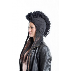 Mohawk hat - Cap black