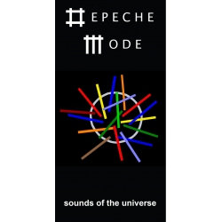 Depeche Mode - Textile Banner (Flag) - Sounds of the Universe