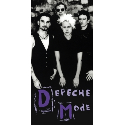 Depeche Mode - Textile Banner (Flag) - Photo Songs Of Faith And Devotion